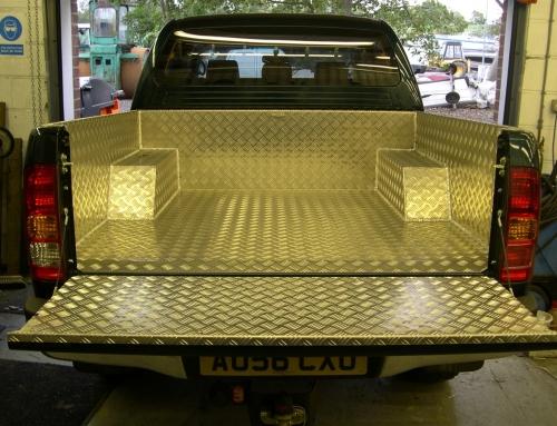 Vehicle stainless and aluminium