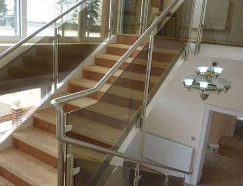 Westerfield House Balustrading